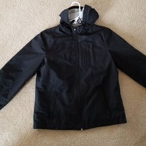 women's lightweight black jacket